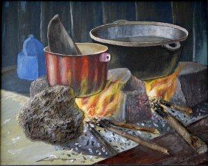 Galeria de arte dominicana pedro c spedes - Fogones de lena ...