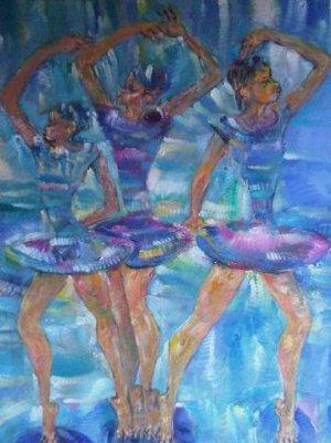 Miguel G�mez - Bailarinas 50 x 40