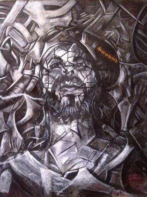 Carlos Grant - 2013 - Serie Laberinto - Cristo 2