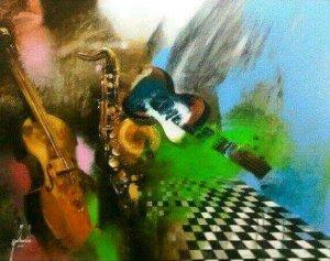 Musical de Pedro Gallardo - 40 x 50 - 1