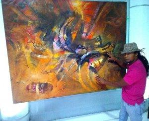 Angel Abreu - Obra ganadora del 1er. premio