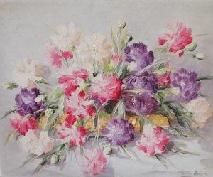 Plutarco Andújar 1958 - 18 x 24 - Flores