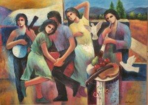 Victor Artiles 40 x 60 - Musical - 1