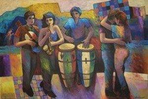 Victor Artiles 40 x 60 - Musical - 2
