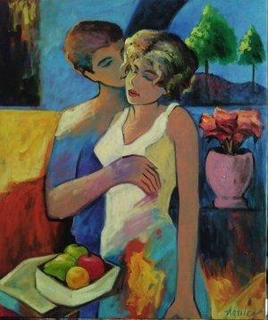 Victor Artiles - 2017 - 24 x 20 - Amantes - 2