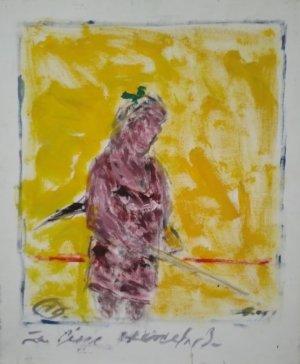 José Cestero - 24 x 20 - La ciega Marcela