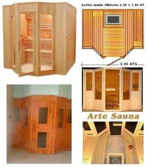 Sauna DISEÑO verdana 6 a 8 personas