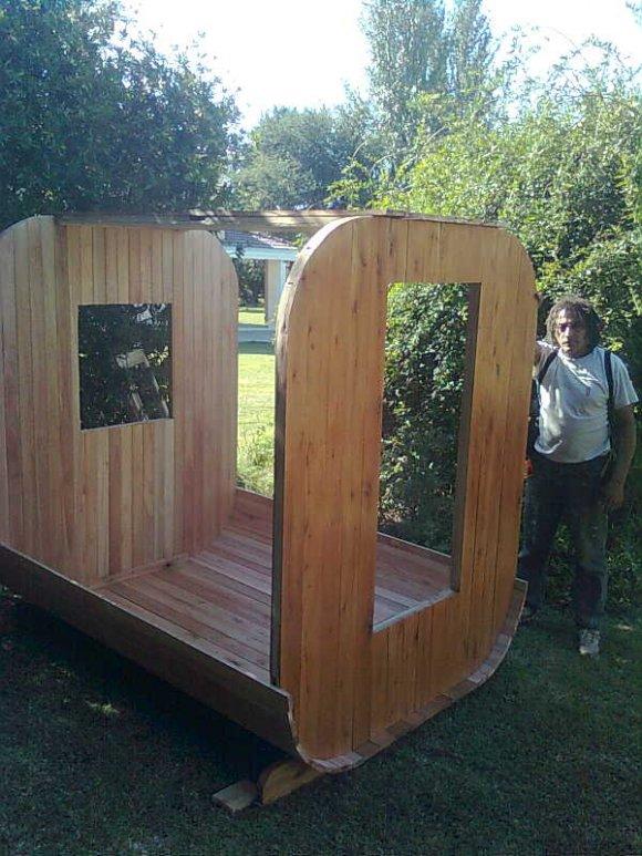 sauna tonel para exteriores(outdoor)