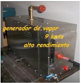 Generador de vapor 9 kw
