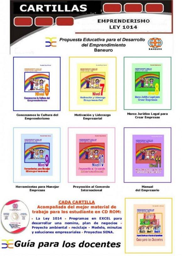 CARTILLAS ESTUDIANTES GRADOS 6� A 11� DE BACHILLERATO