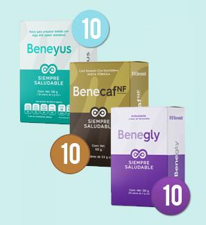 1 Beneyus + 1 Benecaf