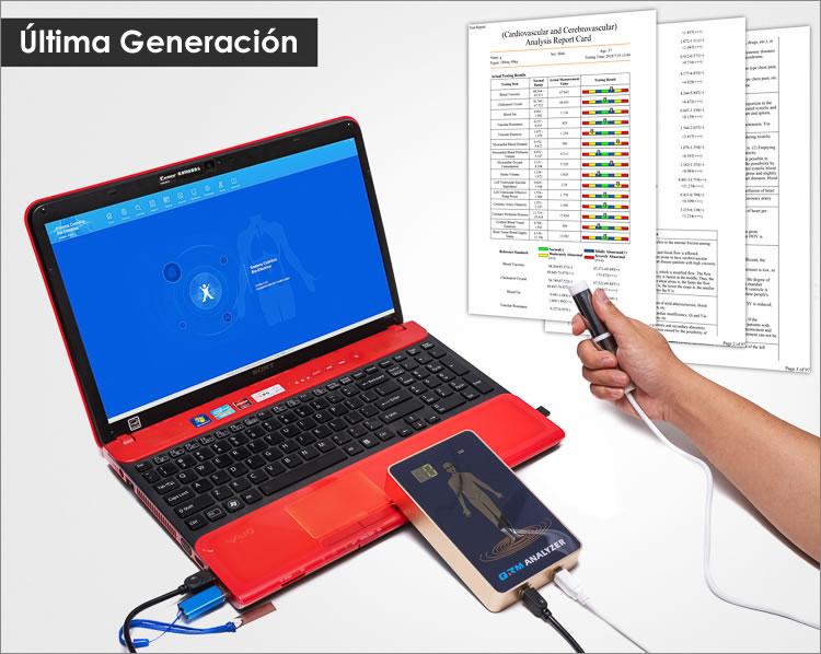 analizador cuantico de 4ta generacion