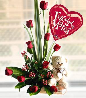 Para Mamá Arreglos Florales Lirio