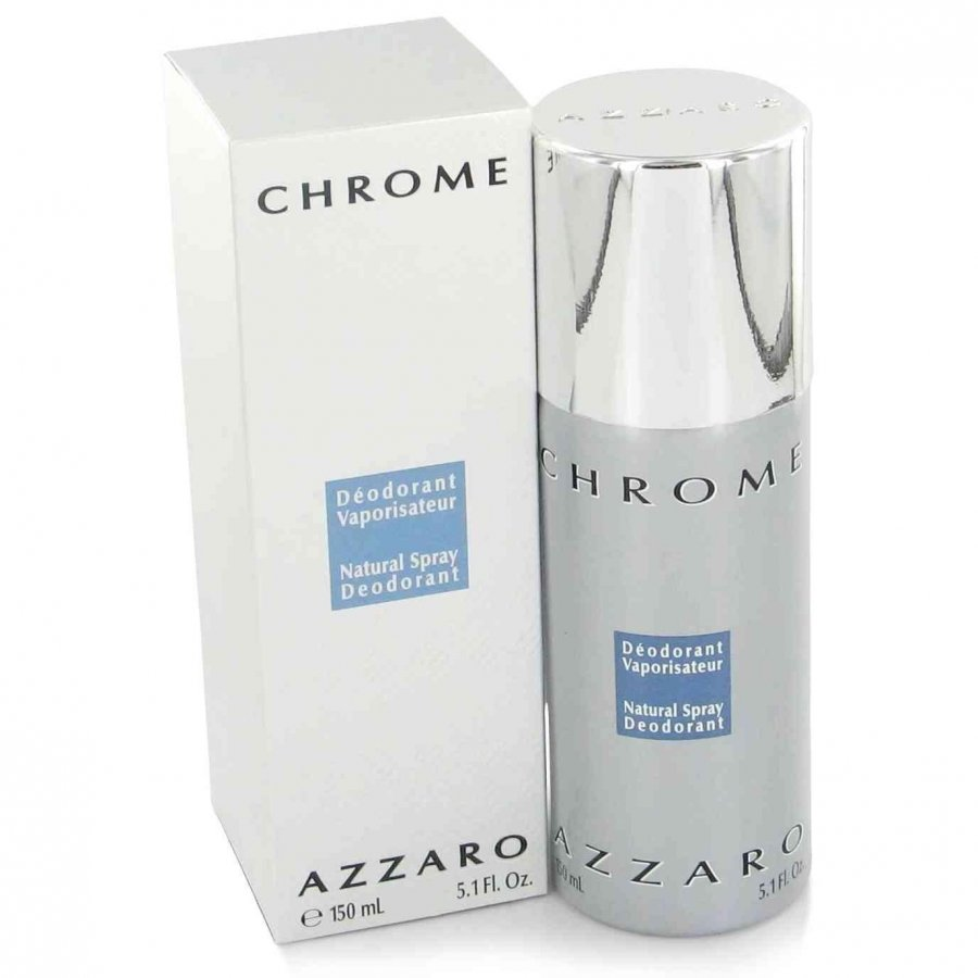 azzaro CHROME 150 ml desodorante spray