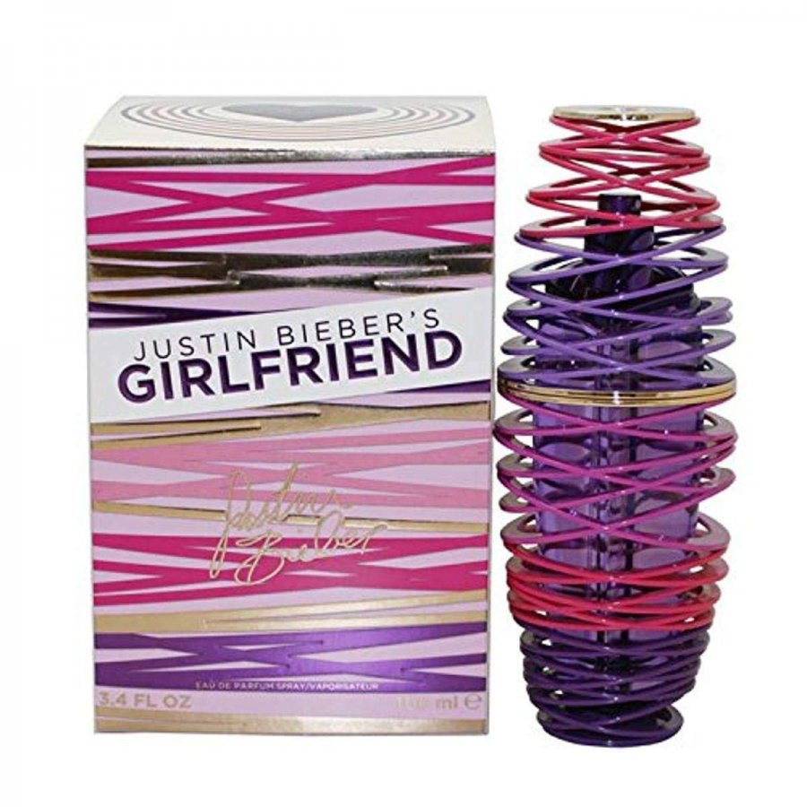 justin bieber  GIRLFRIEND 100 ml EDP dama