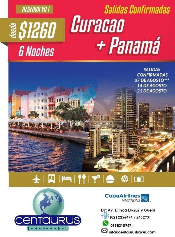 CURACAO + PANAMA