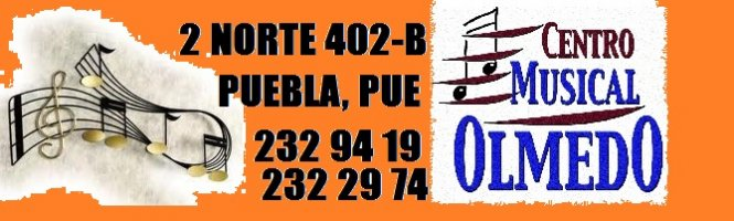 Instrumentos Musicales. Accesorios. Equipos de Sonido e Iluminación. Puebla. Centro Musical Olmedo