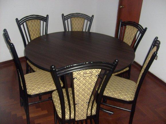 Comercial benavides muebles comedor sillas for Sillas plasticas comedor