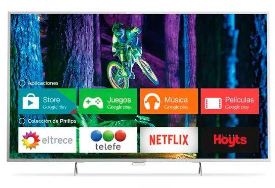 SMART TV UHD 4K PHILIPS 55 PUG6801-77