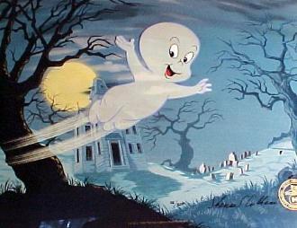 Gasparín en la Noche de Brujas