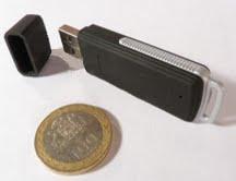 Grabadora espia tipo Pendrive 4Gb.  Precio:  $ 19.990