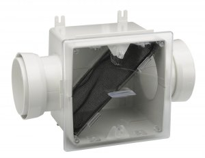 Bathroom Inline Fans For Ventilation Lint Trap With Turn