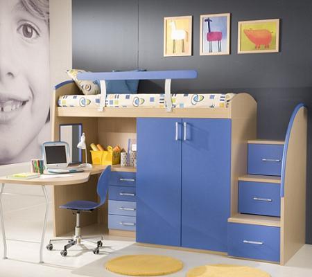 El palacio del colchon literas modernas - Muebles para juguetes ninos ...