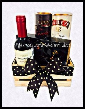 Vino y chocolates