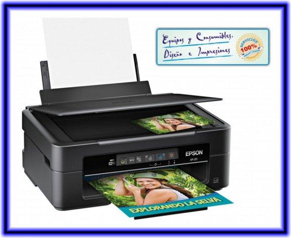 Equipos Y Consumibles Multifuncional Epson Xp 211 Con