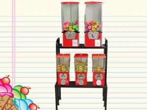 C4 Dispensadora de dulces y sorpresas