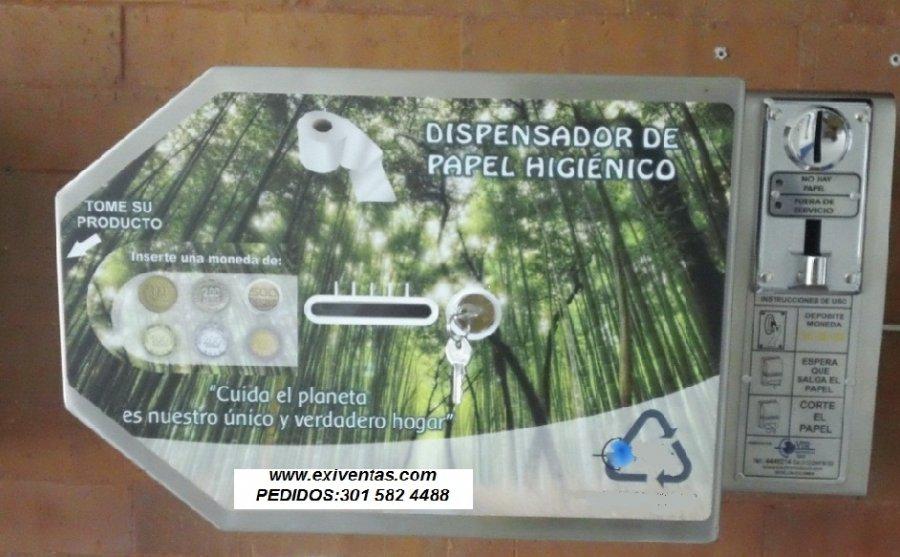 Mobiliario institucional muebles equipos y maquinaria para for Dispensador de papel higienico