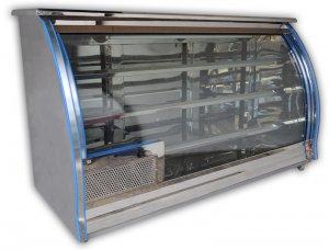 Vitrina de refrigeracion panoramica