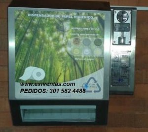 Dispensador de papel higienico AP 101