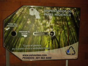 Dispensador de papel higienico AP 102
