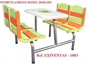 WIMPI FLAMINGO BOSEL DORADO