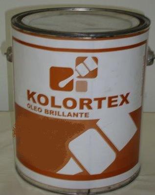 PINTURA OLEO BRILLANTE BLANCO K-505 KOLORTEX DE GALON