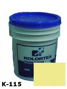KOLORTEX K-115 MARFIL PLAST. DECO. CUNETE 5GAL