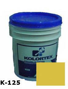 KOLORTEX K-125 DORADO PLAST. DECO. CUNETE 5GAL