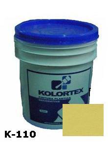 KOLORTEX K-110 OSTRA PLAST. DECO. CUNETE 5GAL