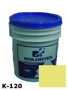KOLORTEX K-120 MARFIL MODERN  PLAST. DECO. CUNETE 5GAL