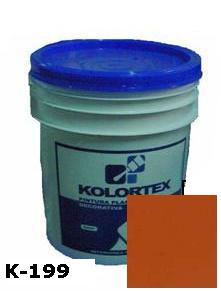 KOLORTEX K-199 TEJA CRIOLLA PLAST. DECO. CUNETE 5GAL