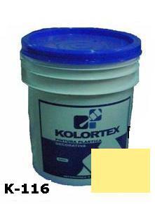 KOLORTEX K-116 MARFIL CLASSIC PLAST. DECO. CUNETE 5GAL
