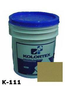 KOLORTEX K-111 GRIS CEMENTO PLAST. DECO. CUNETE 5GAL