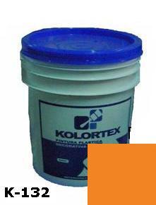 KOLORTEX K-132 NARANJA PLAST. DECO. CUNETE 5GAL