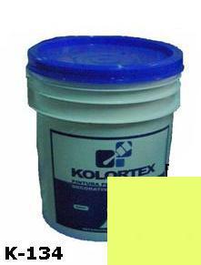 KOLORTEX K-134 AMARILLO CLARO PLAST. DECO. CUNETE 5GAL