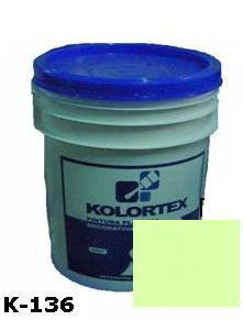 KOLORTEX K-136 VERDE CLARO PLAST. DECO. CUNETE 5GAL