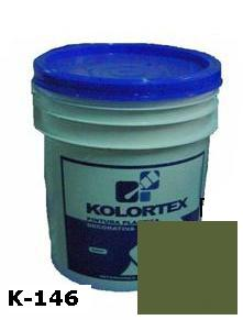 KOLORTEX K-146 VERDE OSCURO PLAST. DECO. CUNETE 5GAL