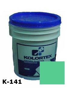 KOLORTEX K-141 TURQUESA PLAST. DECO. CUNETE 4GAL