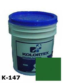 KOLORTEX K-147 VERDE AMAZONAS PLAST. DECO. CUNETE 5GAL