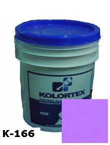 KOLORTEX K-166 VIOLETA OSCURO PLAST. DECO. CUNETE 5GAL